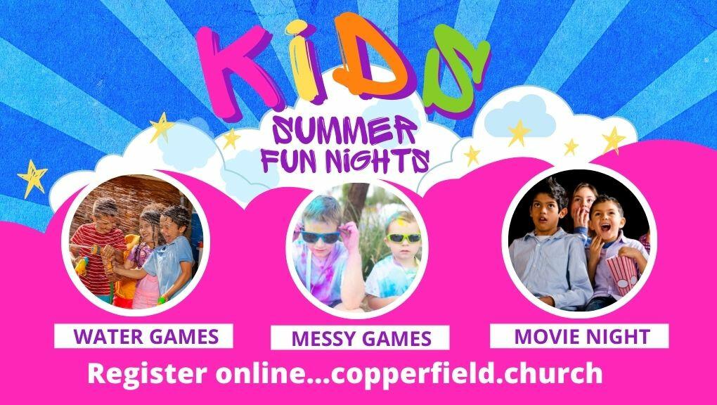Kids Summer Fun Nights